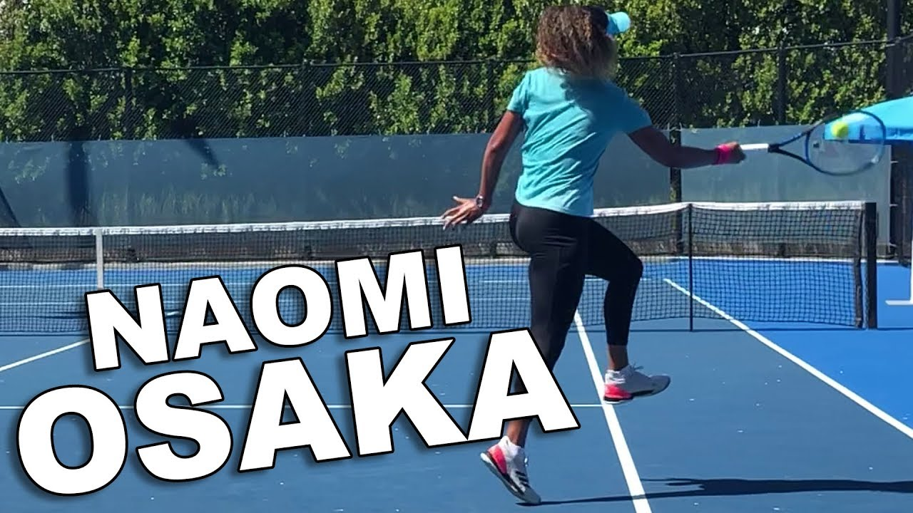 Naomi Osaka - Slow Motion Serves and Groundstrokes 2019
