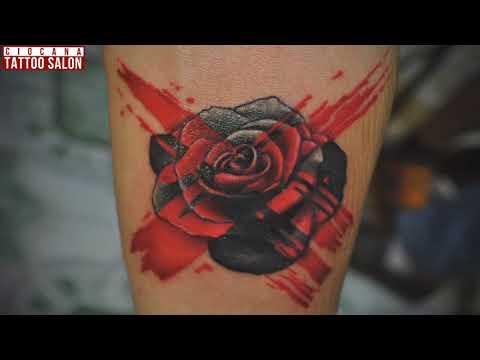26 - Тату Роза - значение татуировки