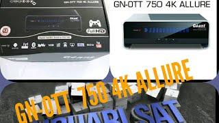 TUTORIEL ▪¤《GNOTT 750 4K ALLURE》¤▪ كل شئ على جهاز