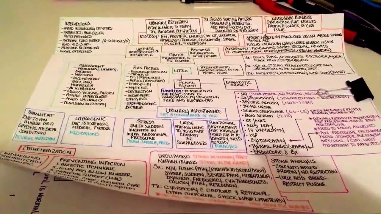 how to create a concept map in nursing