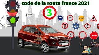 Code de la route France conforme à la nouvelle Réforme Série  03 HD