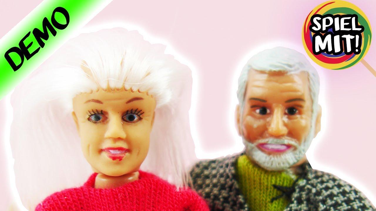 Barbie oma opa unboxing deutsch blutet die puppe - Ihr werdet oma und opa ...