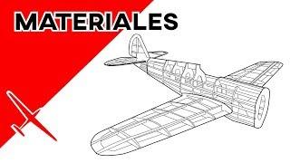 Materiales para construcción de drones y aeromodelos RC