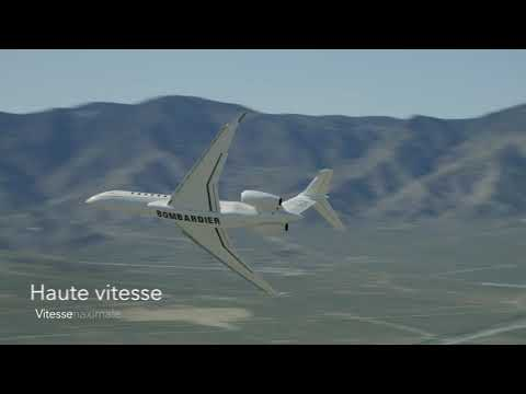 L'avion d'affaires Global 7500