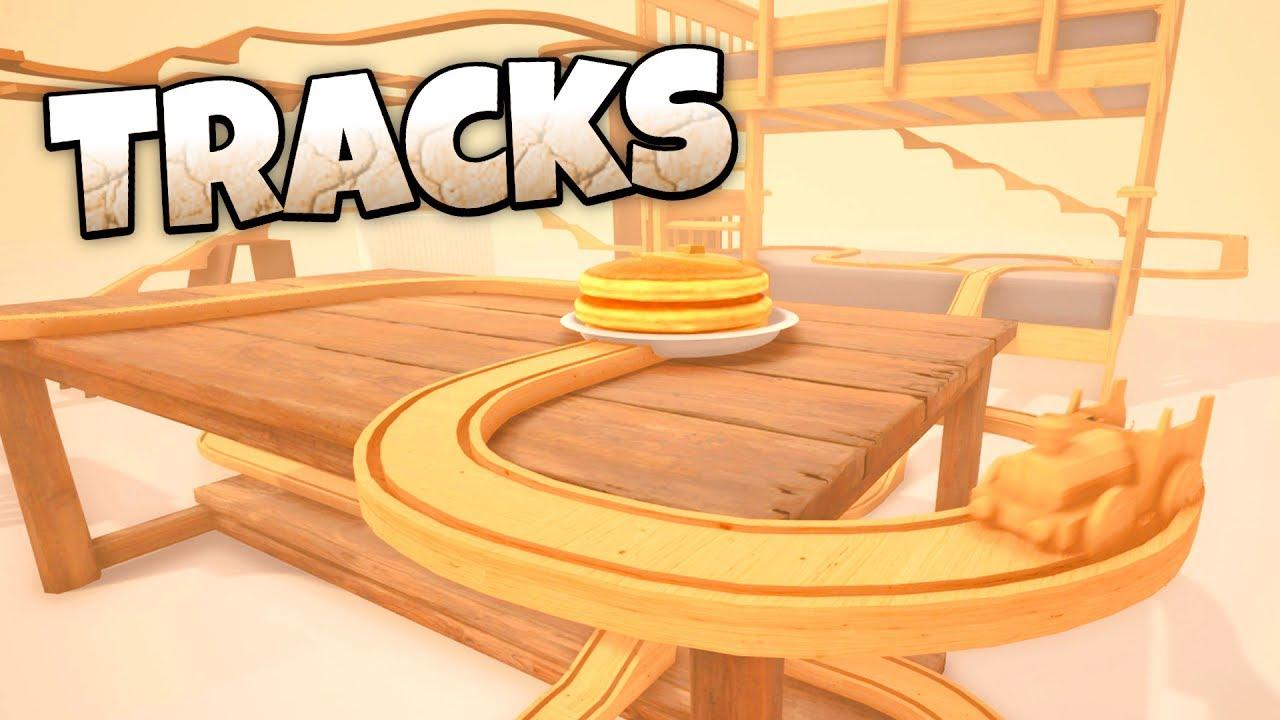Wooden Train Track Simulator!