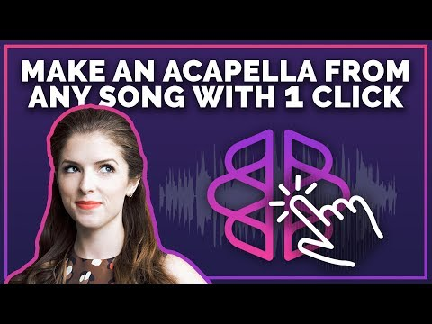 Make An Acapella From Any Song With One Click - PhonicMind Review