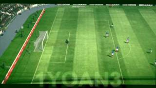 PES 2010 Long Shot Goal Compilation