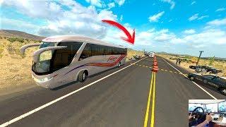 vuclip !!!NOS DETIENEN LOS FEDERALES¡¡¡   marcopolo (futura)   american truck simulator