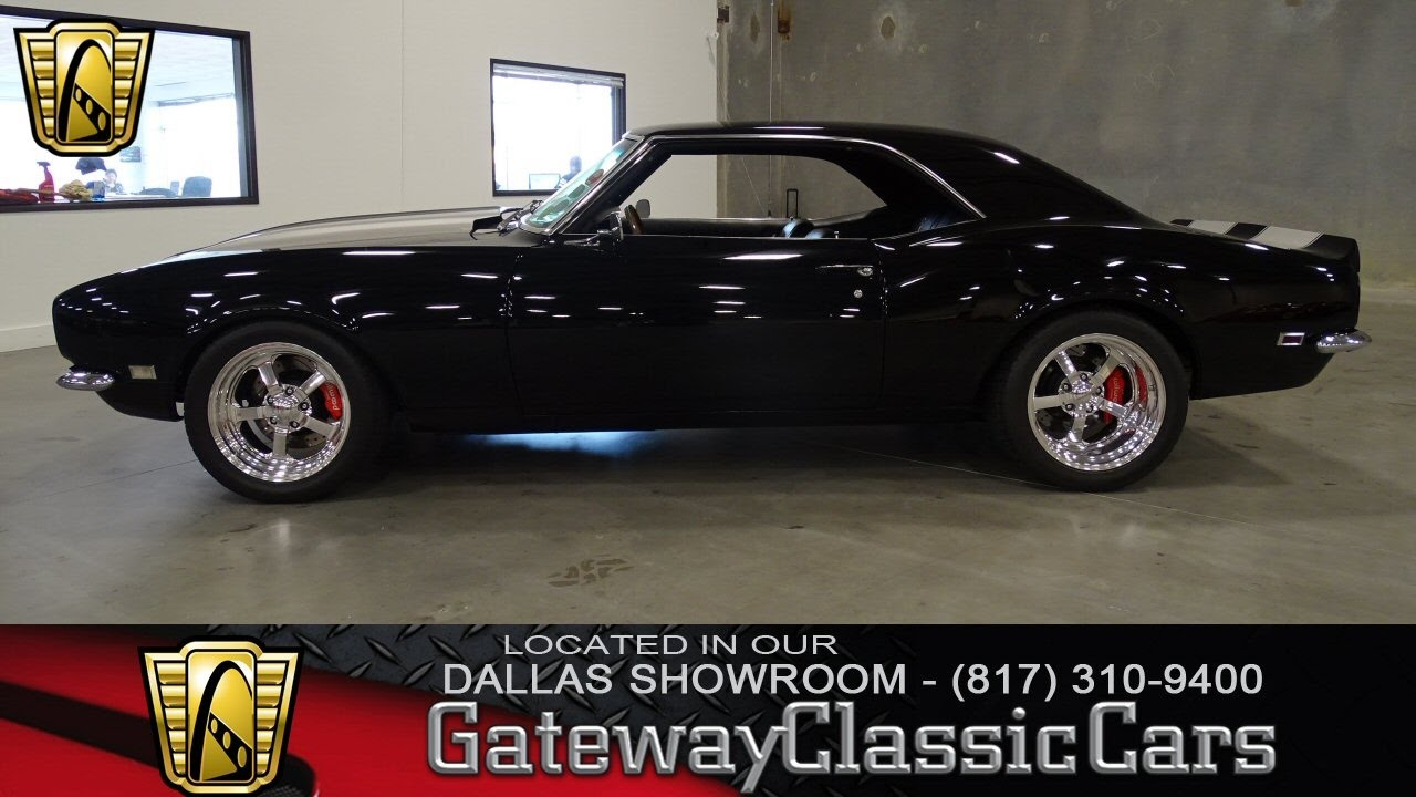 1968 Chevrolet Camaro #356-DFW Gateway Classic Cars of Dallas - YouTube