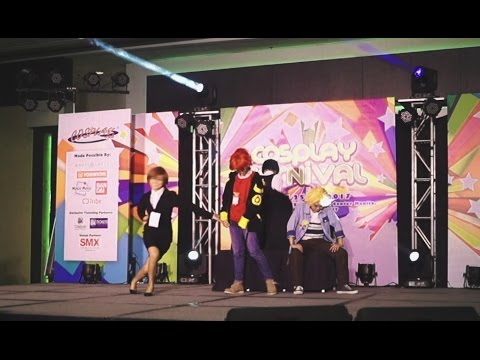 Mystic Messenger cosplay at Cosplay Carnival 2017 (Raindrop group)