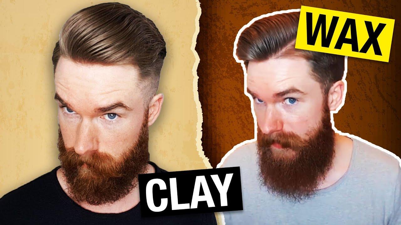 Claymation Oder Dawax Der Haarwachs Vs Clay Ratgeber Youtube