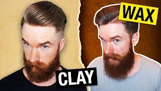 Claymation oder Da39;Wax???  Der HaarwachsvsClayRatgeber