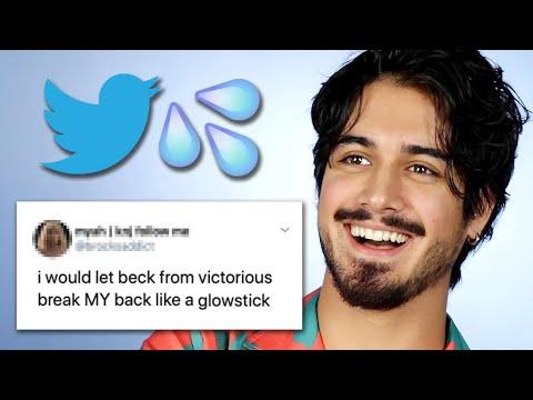Avan Jogia Reads Thirst Tweets
