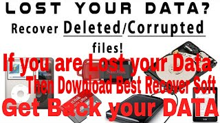 How to Download Best Data Recovery Software Get Back your Data