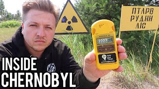 INSIDE CHERNOBYL EXCLUSION ZONE
