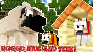 PUPPIES BACK TO SCHOOL MINECRAFT HIDE AND SEEK