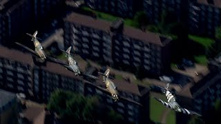 video: Battle of Britain 80th anniversary: watch flypast over Westminster Abbey