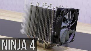 scythe Ninja 4 CPU Cooler Review