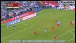 Santos vs Toluca Final bicentenario 2010 juego de ida todo los goles