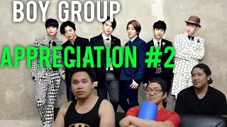 B A P And NCT 127 MV REACTIONS Boy Group Appreciation 2