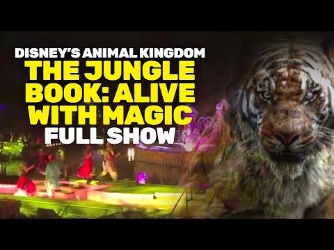 NEW The Jungle Book: Alive with Magic show at Disney's Animal Kingdom, Walt Disney World