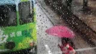 Дождь в городе...