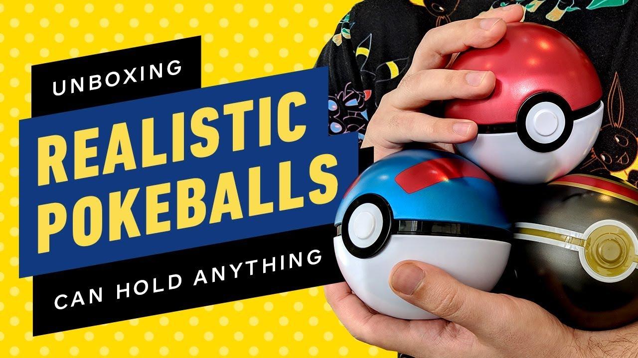 Pokemon Real Metal Pokeballs Konnen Alles Halten Video