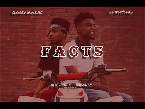21 Savage & Metro Boomin Type Beat - Facts ft. Future