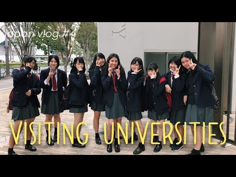 School trip to Japanese Universities in Saitama and Tokyo // japan vlog #4