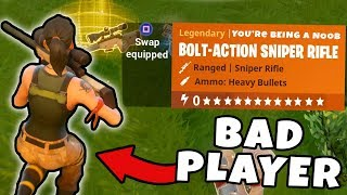 5 Things BAD Players Do in Fortnite ~ Fortnite Battle Royale Top 5