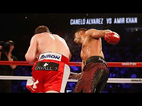 "Canelo Alvarez Viciously KOs Amir Khan, Tells GGG ""We Don't F**k Around"""