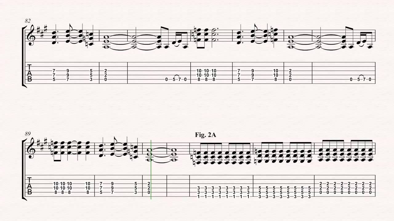 Guitar Jeremy Pearl Jam Sheet Music Chords Vocals Youtube