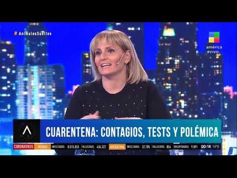 Romina Manguel dejó mal parado a Luis Novaresio
