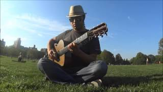 "NYC Central Park Original Improvisation ""El Capitan"" by Nate Lopez"