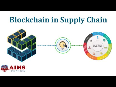 What is Blockchain in Supply Chain Management?   AIMS (UK)