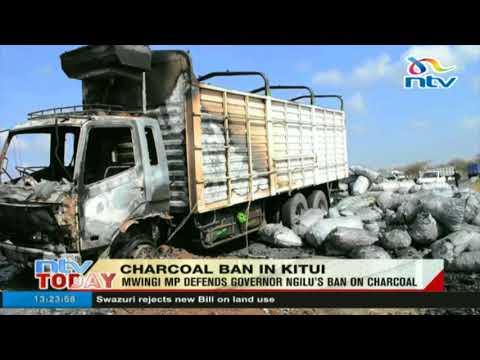 Mwingi MP defends Governor Ngilu's ban on charcoal