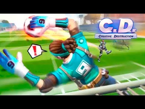 *NEW MODE* SOCCER ROYALE in CD!🔥 Creative Destruction | PolGames | Gameplay
