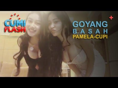 Tinggalkan Drible, Pamela Goyang Basah dan Tusuk-tusuk - CumiFlash 01 Mei 2017