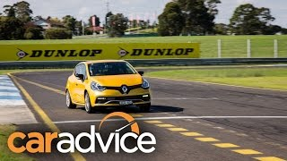 2015 Renault Clio RS track day review - Sandown Raceway