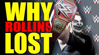 Reasons Why the Fiend Won the Universal Championship At WWE Crown Jewel 2019 & Why It's On SD!