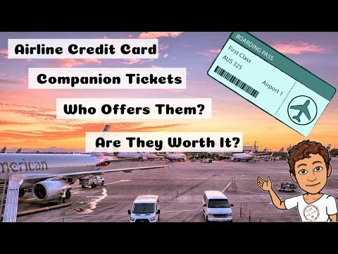 Airline Credit Cards That Offer Companion Certificates