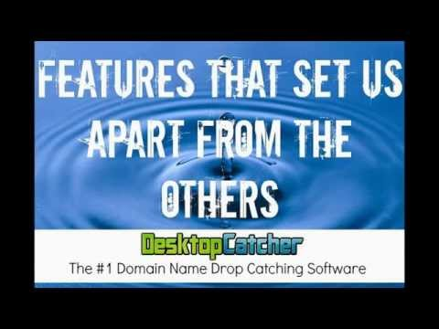 DesktopCatcher Features - #1 Expired Domain Name Drop Catching Software