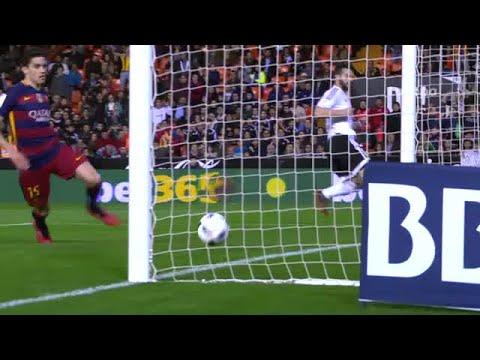 Copa del Rey: Valencia-Barça, 1-1