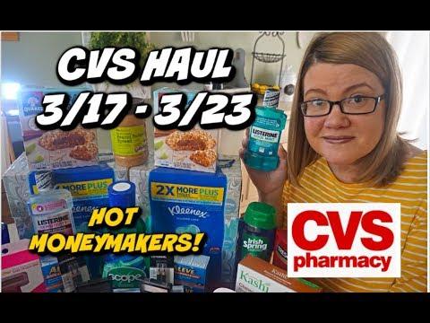 CVS HAUL 3/17 - 3/23 | SUPER-HOT MONEYMAKERS & MORE!