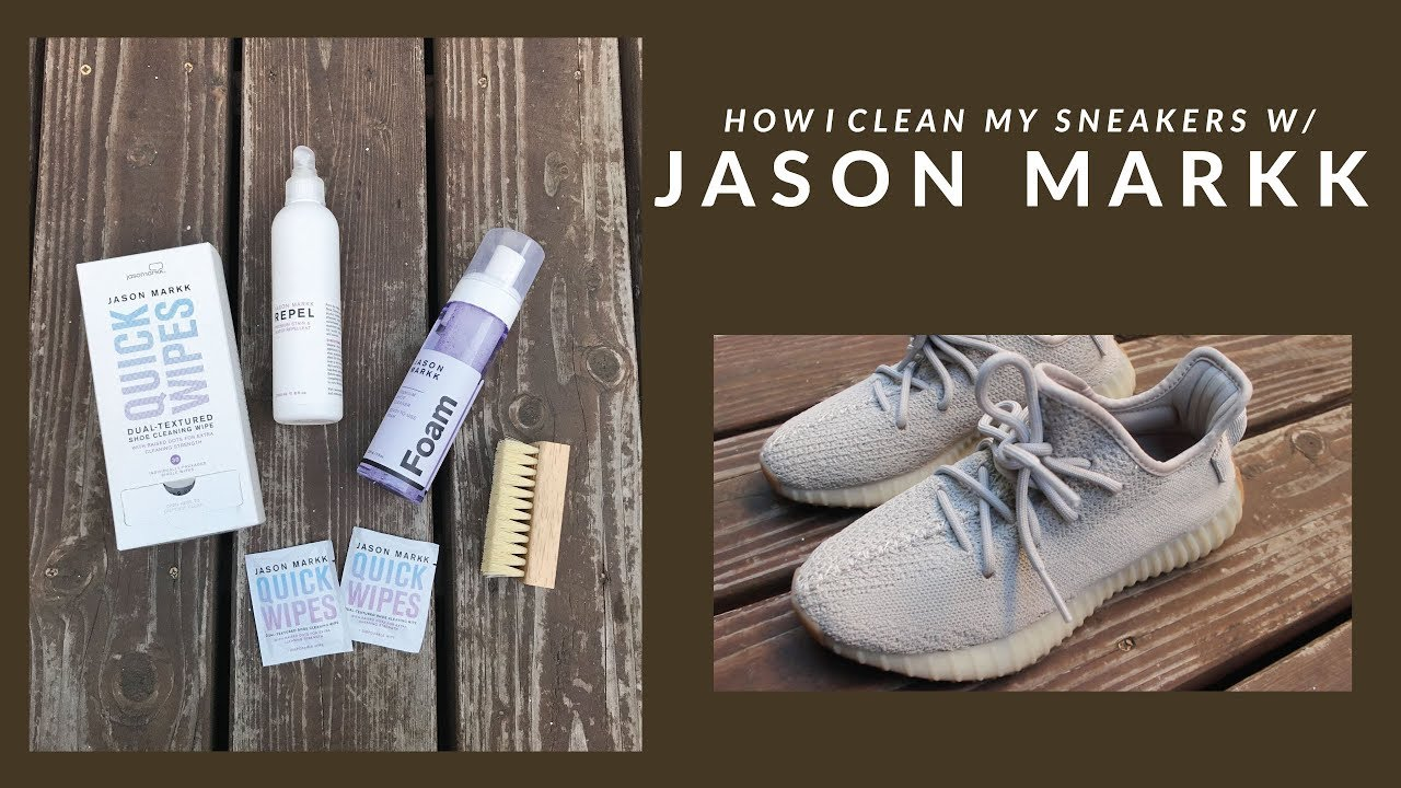 How I Clean My Sneakers w/ Jason Markk