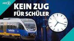 Verspätete Züge: Schüler bleiben auf der Strecke   Panorama 3   NDR