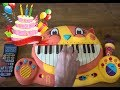 HAPPY BIRTHDAY SONG ON A DRUM CALCULATOR AND A CAT PIANO mp3