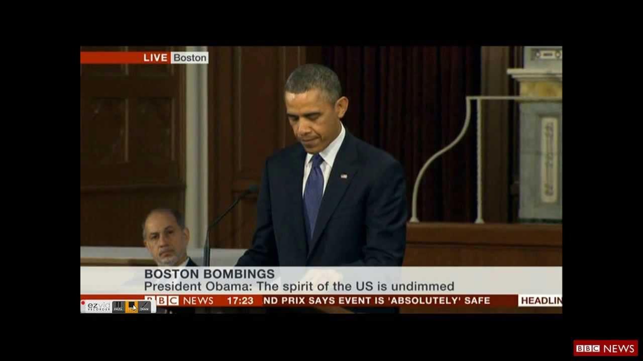 boston attack obama
