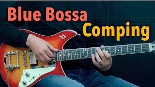 Blue Bossa Comping - Achim Kohl - Jazz Guitar - Fast & Slow