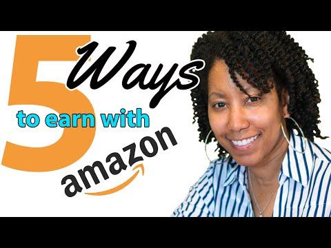 5 Ways to Make Money With Amazon